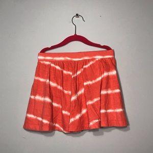 Girls tie dye skort!